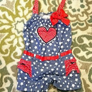 Other - 24 month girl onesie america baby outfit